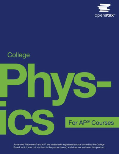 OpenStax College Physics AP textbook cover